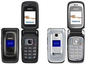 nokia 6085 black and silver