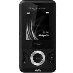 sony ericsson w205 review