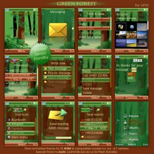 Green Forest Theme