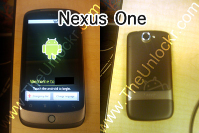 nexus one cellphone