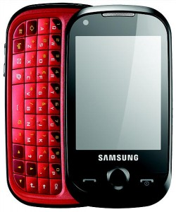 samsung corby pro mobile cell phone telefono movil
